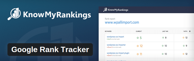 WordPress plugins - KnowMyRankings