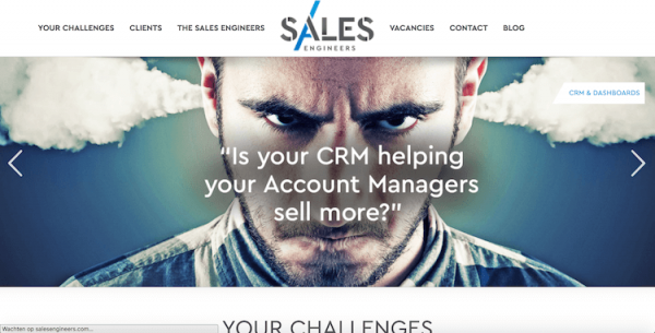 Sales Engineers webdesign by ABCwebsites