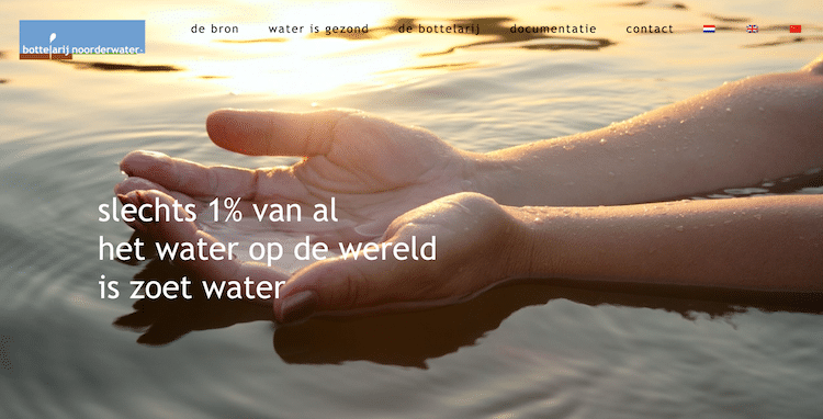 Bottelarij Noorderwater - webdesign by ABCwebsites