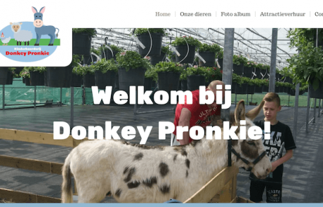 webdesign by ABCwebsites - Donkey Pronkie