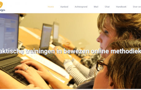 E-hulp Trainingen - webdesign by ABCwebsites