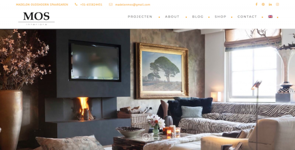 Webdesign by ABCwebsites - MOS Interiors