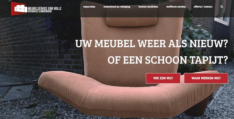Meubelservice Erik Bolle - webdesign by ABCwebsites