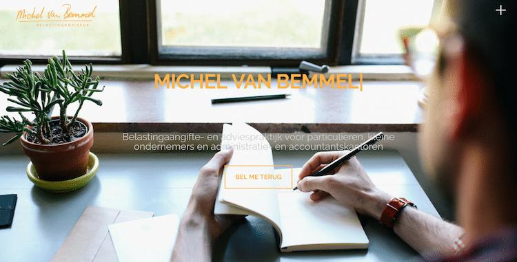 Michel van Bemmel Belastingadviseur - Webdesign by ABCwebsites