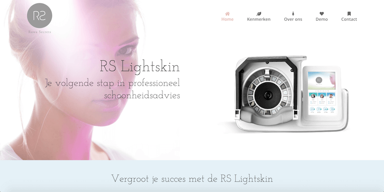 webdesign by ABCwebsites - RS Lightskin