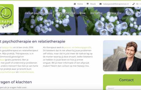 Therapievisie - webdesign by ABCwebsites