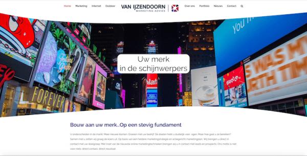 Van IJzendoorn - webdesign by ABCwebsites