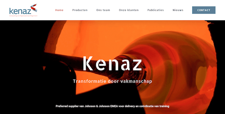 Kenaz - webdesign by ABCwebsites